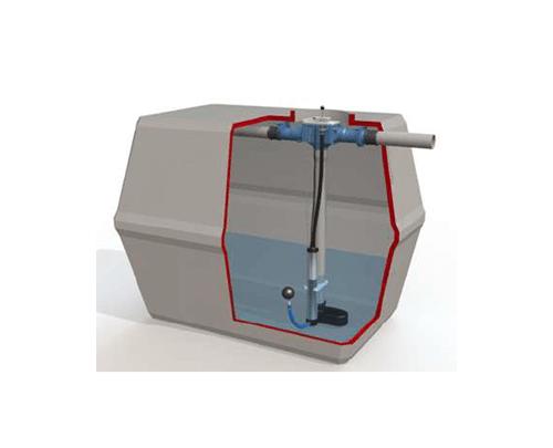 zbiralnik deževnice WATERFIX prerez-min